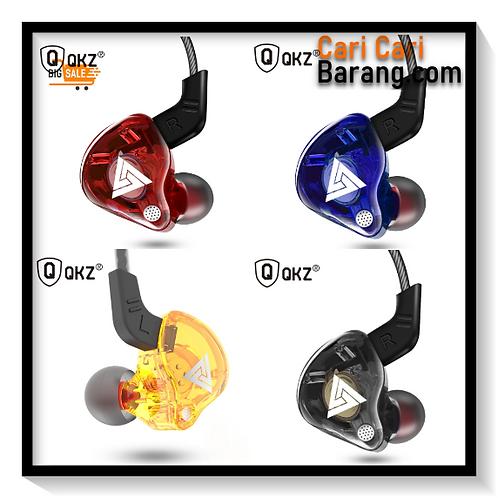 QKZ AK6 In Ear Earphone Copper Driver HiFi Sport Headphones for Running