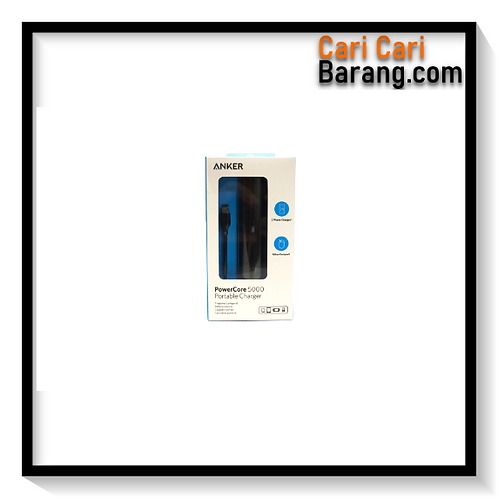 Powerbank Anker PowerCore 5000 mAh Black Original