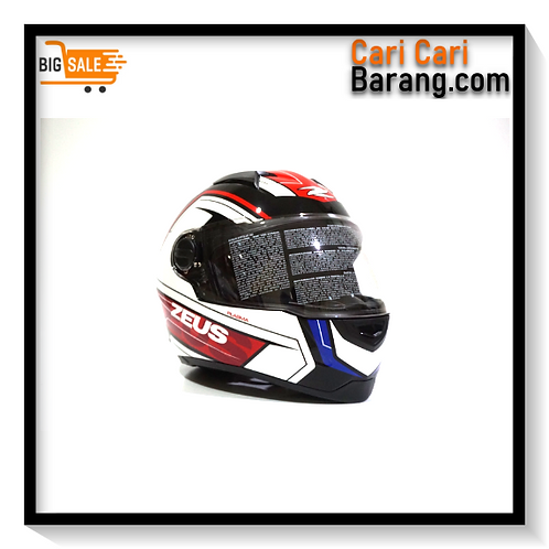 Helm Zeus Full Face ZS811 - BLACK / AL5 BLUE