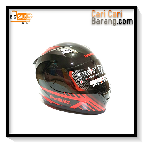 Helm KYT Full Face Honda - Honda Helmet B/R Full Face
