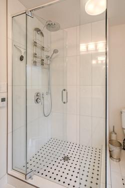 Bathroom Renovation, Seamless Glass Shower, Kamloops, BC