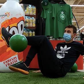 Animation Freestyle Football pour YOP à Saint Etienne