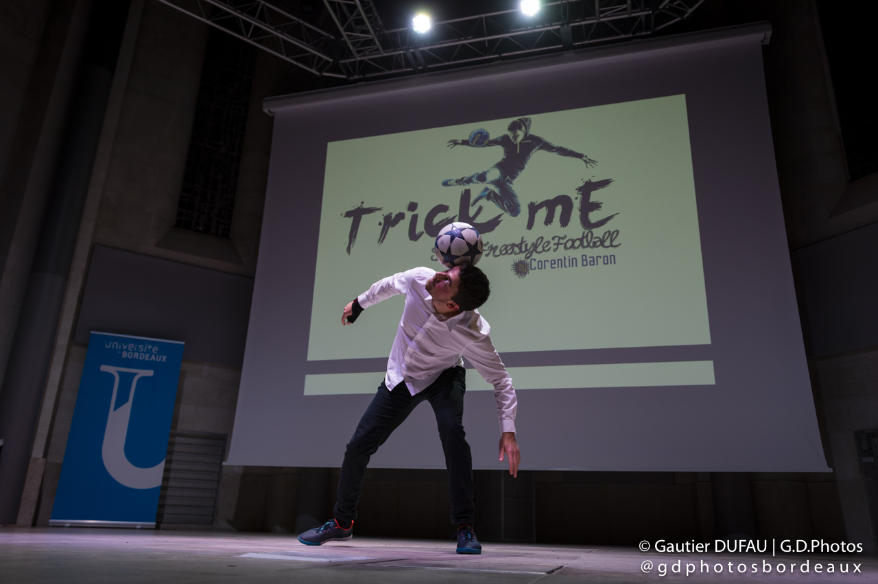 Show Freestyle Football Bordeaux