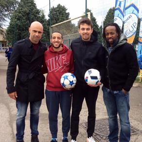 Animation Freestyle Football pour Danone
