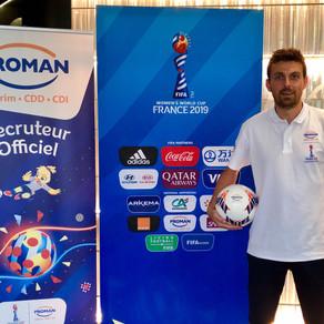 Animation Football Freestyle Coupe du Monde féminine