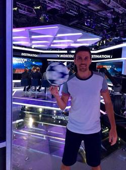 Show Freestyle Football CNEWS Paris