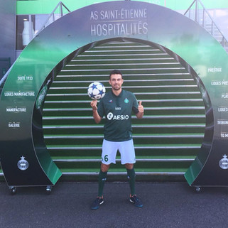 Show Football Freestyle pour le match ASSE / AS Monaco