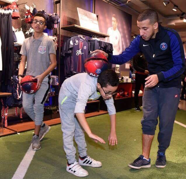 Animation Football Freestyle pour le PSG