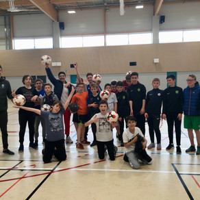 Initiation Football Freestyle à Montaigu