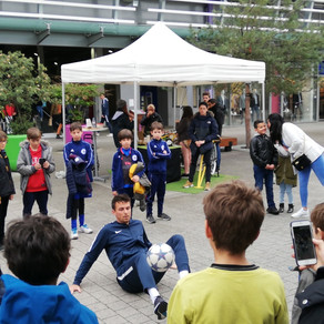 Animation Freestyle Football à Lyon
