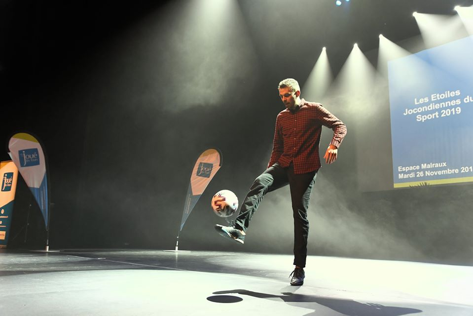 Show Football Freestyle soirée Tours