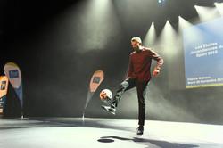 Show Football Freestyle soirée Tours