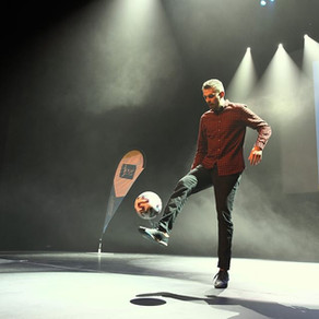 Show Football Freestyle à Tours