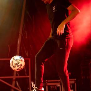 Show Freestyle Football pour un festival urbain