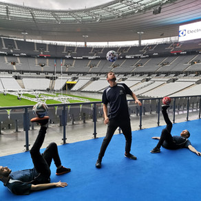 Show Football Freestyle au Stade de France