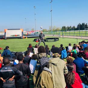 Show Football Freestyle en Normandie