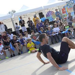 Show Football Freestyle à Niort