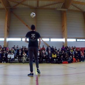 Show Freestyle Football à Saint Nazaire
