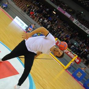 Show Foot Freestyle pour du Handball à Brest