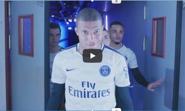 Doublure Football Freestyle pour PSG / Nivéa