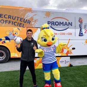 Animation Freestyle Football pour la tournée Proman