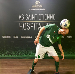 Show Football Freestyle ASSE