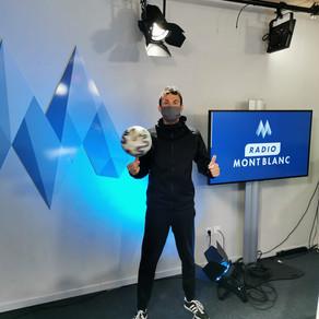 Interview Freestyle Football pour Radio Mont Blanc