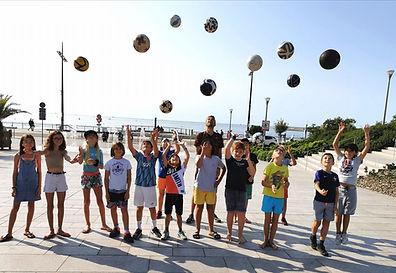 Anniversaire Freestyle Football aux sabl