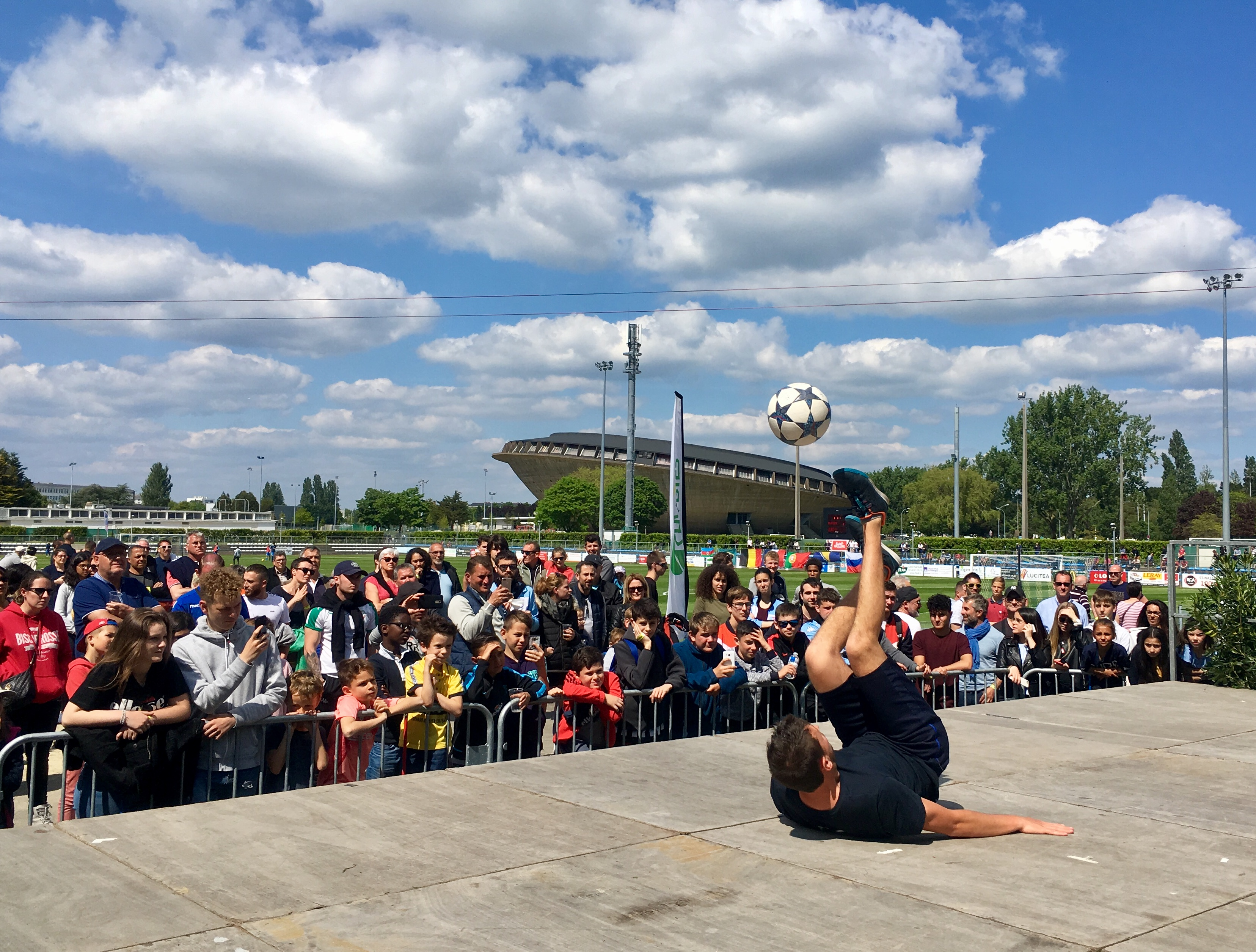Show Freestyle Foot Saint Nazaire