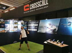 Animation Foot Freestyle Crosscall