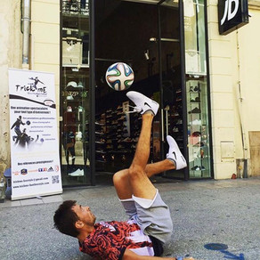 Show Freestyle Football pour JD Sport