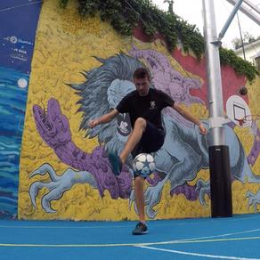 Démonstration Foot Freestyle à Paris