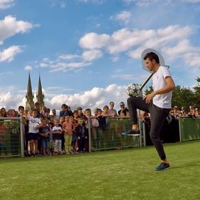 Show Football Freestyle en Vendée