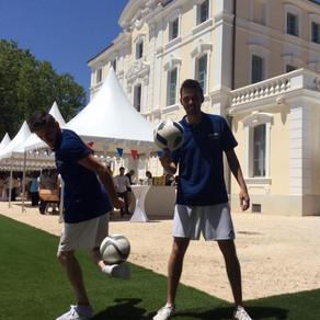 Show Freestyle Football pour Ricard