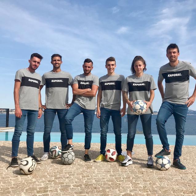Show Football Freestyle pour les 15 ans de la marque Kaporal à Marseille