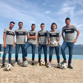 Show Freestyle Football pour Kaporal à Marseille