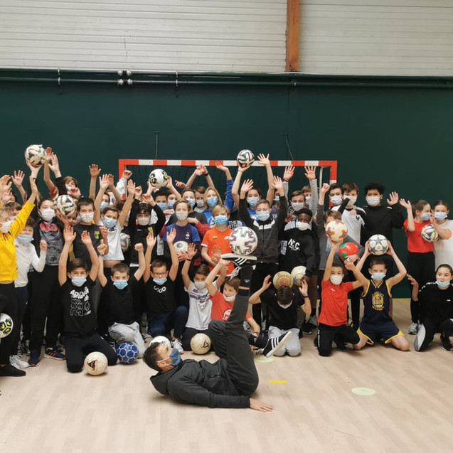 Initiation Freestyle Football au May sur