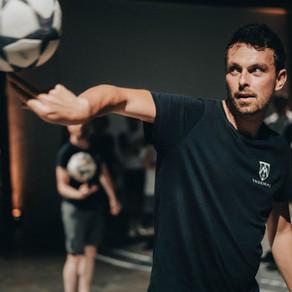 Show Football Freestyle pour un évènement d'entreprise