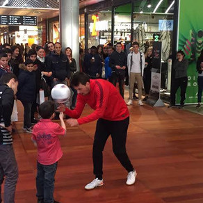 Animation Freestyle Football à Lille