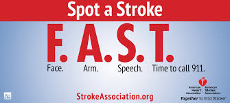 Do You Know Signs of a Stroke?