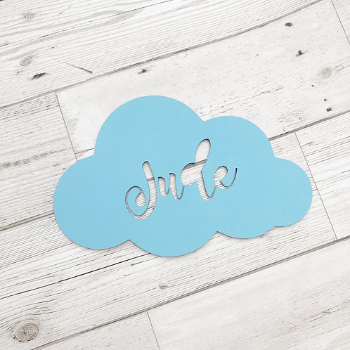 Personalised Cloud Room Decor