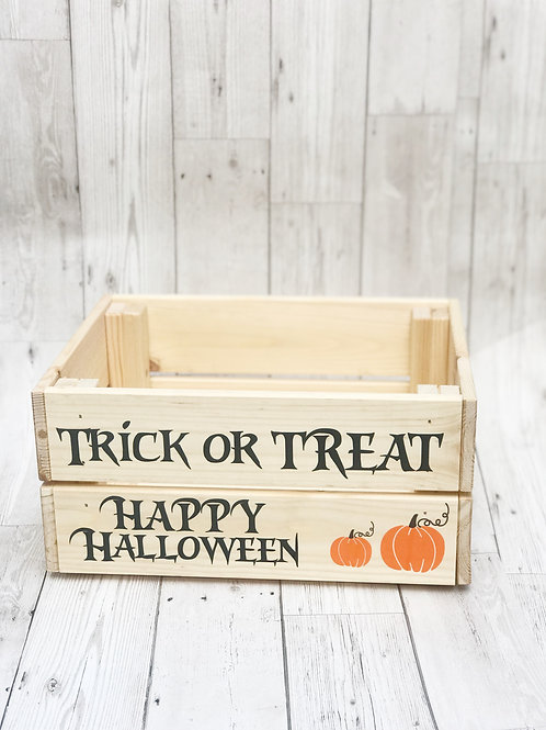 Halloween Trick Or Treat Crate