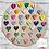 Thumbnail: Personalised Wooden Floral Hoop
