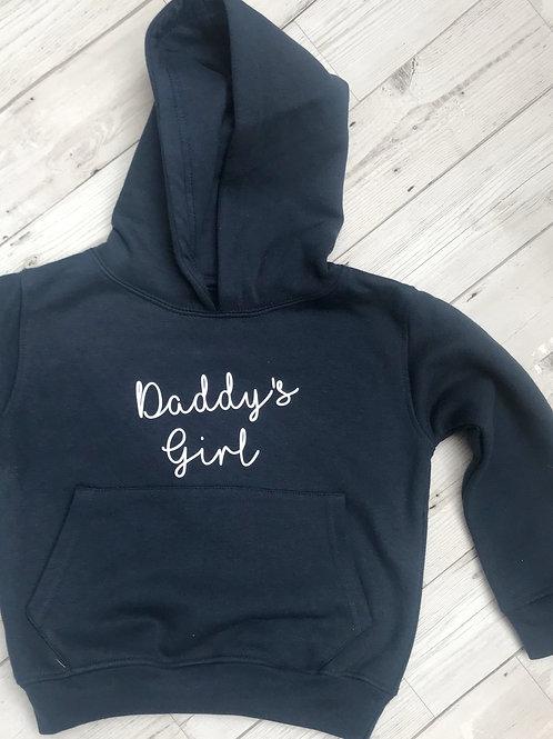 Personalised Daddy's girl hoodie