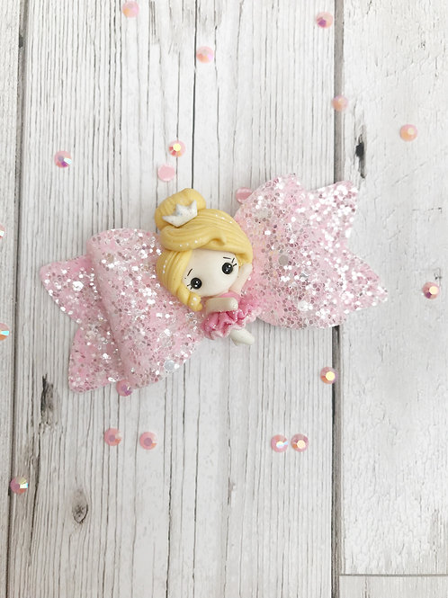 Ballerina Hair Bow