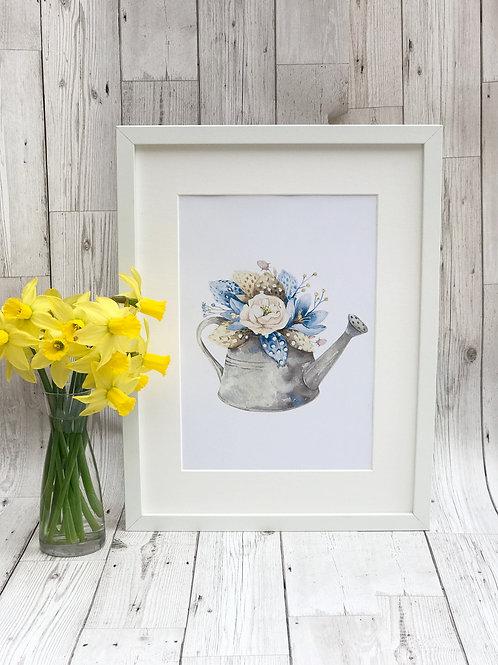 A4 Floral Watercolour print