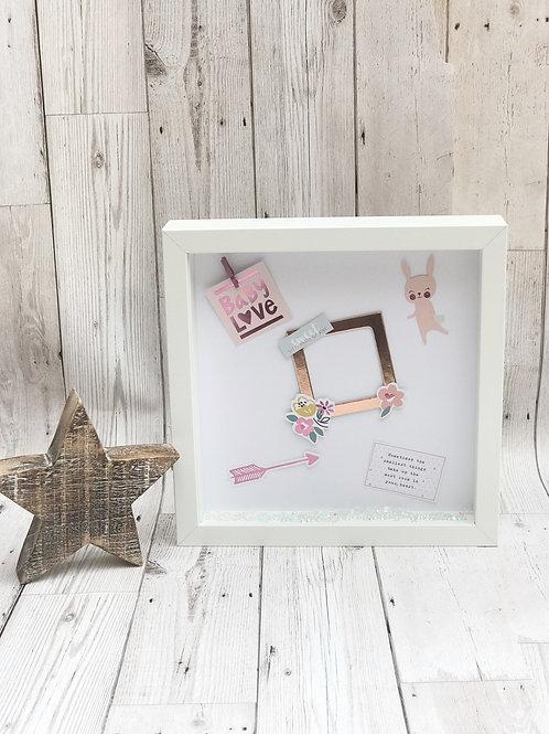 Newborn Baby Scrapbook Frame