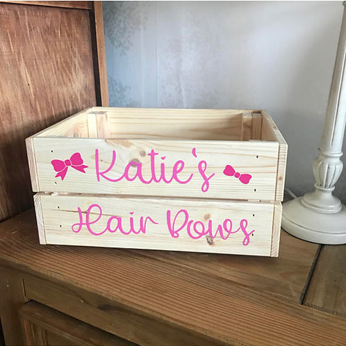 Personalised Wooden Crates For All Occasions