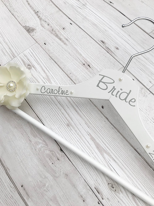 Wedding Day Keepsake Dress Hanger