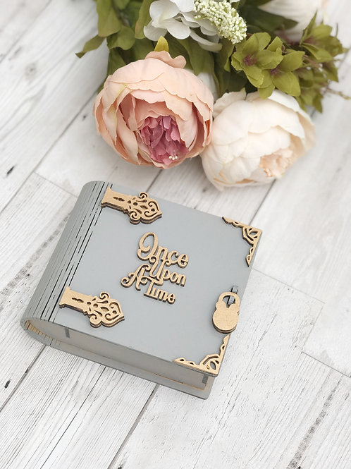 Once upon a time Wooden keepsake box